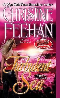 TURBULENT SEA: by Christine Feehan DRAKE SISTERS Series PARANORMAL Romance