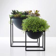 By Lassen | Kubus Bowl - Black Small | Living | Share Design | Home, Interior Design, Architecture, Design Ideas & Design Inspiration Blog