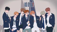 Nct dream we go up K Pop, Dream Anime, New Baby Boys, Bts Chibi, Kpop Fanart, Disney Fan Art, Nct 127, Nct Dream, Cute Art