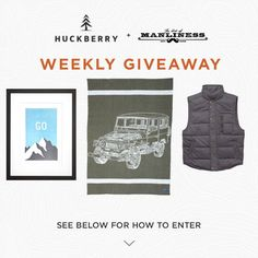 The Weekly Huckberry Giveaway: October 9, 2015 http://www.artofmanliness.com/2015/10/09/the-weekly-huckberry-giveaway-october-9-2015/?utm_content=bufferdbf3d&utm_medium=social&utm_source=pinterest.com&utm_campaign=buffer featuring FaribaultWoolenMill United By Blue