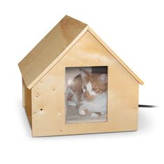Birdwood Manor Thermo-Kitty House – Deserving Paws