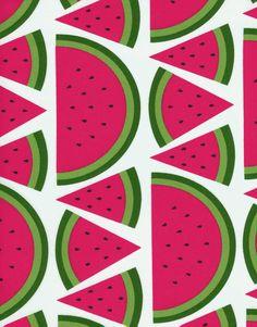 Love this watermelon fabric