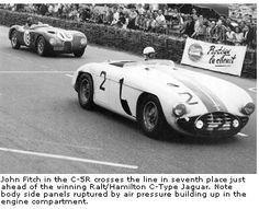 Briggs Cunningham - American Racing Tradition - Le Mans 1953: Top Ten Trio