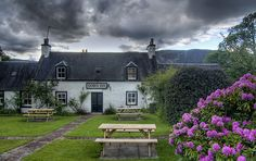 Dores Inn - Loch Ness, Scotland Wonderful place for food or drink after a walk round the loch.