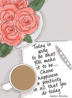 Wähle heute das Glück..