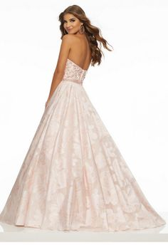 Shop Morilee's Floral Printed Organza with Beaded Trim and Three-Dimensional Floral Appliqués. Shop the latest prom 2019 dress styles at Morilee including this stunning designer prom dress with a sweetheart neckline and ballgown silhouette. Affordable Prom Dresses, Formal Dresses, Wedding Dresses, All Fashion, Fashion Dresses, Mori Lee Prom, Designer Prom Dresses, Beaded Trim, Spring Dresses