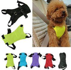 Pet Dog Leash Harness For Car Safety Seat Belt