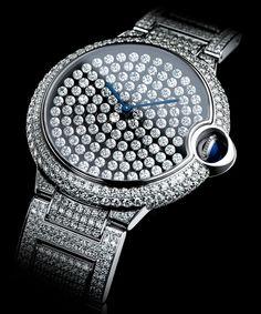 99e9a7a03fa Cartier Watch Wants Vibrating Diamonds To Be A Woman s Best Friend