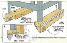 DIY Mobile Base - Workshop Solutions Projects, Tips and Tricks | WoodArchivist.com