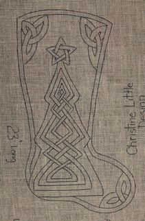 Picture Celtic Christmas Stocking                                                                                                                                                     More