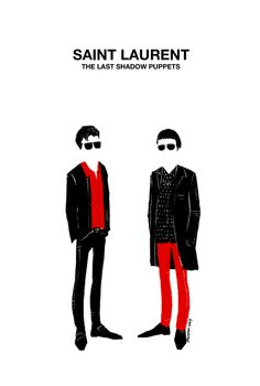 the last shadow puppets (miles kane and alex turner)