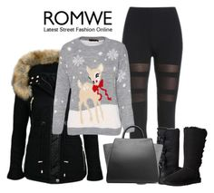 """""""Romwe.com Contest"""" by bage ❤ liked on Polyvore featuring UGG Australia and ZAC Zac Posen"""