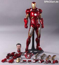 The Avengers: Iron Man Mark VII - Deluxe Figur, Fertig-Modell ... http://spaceart.de/produkte/tav006.php please repin!