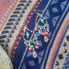 Shop our ADELINA earrings beauties for only $22.00 now available at http://www.luvgypsy.com/collections/earrings/products/adelina #Earrings #GypsyJewel #Boho #TribalJewelry #Bohemian #Beads #Beachwear #Hippie #HippieStyle #Vintage #VibrantColors #Gold #Passion #FestivalLook #BeachWear #LuvGypsy #Wildheart #India #Treasures #TreasureHunt #Tibet #Tibetan #TibetanCoral #Turquoise #StatementJewelry #Jewelry #IndianJewelry #IndianTreasures #Red