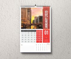 Buy Wall Calendar 2020 by Creativehabibs on GraphicRiver. Wall Calendar Template for company or corporate use. This Calendar designs are very easy to use and customize so beg.