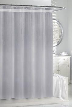 38 kassatex srs115slv rhinestone shower curtain by kassatex http