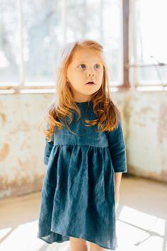 indigo goldilocks dress | Tortoise & the Hare Clothing
