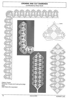 Bobbin Lacemaking, Lace Heart, Lace Jewelry, Lace Patterns, Lace Detail, Butterfly, Gallery, Bookmarks, Lace