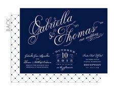 Signature vintage wedding invite in baltic blue. Vintage Wedding Invitations | Confetti Daydreams ♥  ♥  ♥ LIKE US ON FB: www.facebook.com/confettidaydreams  ♥  ♥  ♥ #Wedding #Vintage #WeddingInvitations