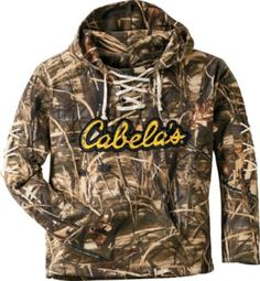 Cabelas Camo Lace-Up Hoodie - Modern Hunting Clothes, Camo Clothes, Real Country Girls, Under Armour Sweatshirts, Camo Outfits, Camo Hoodie, Country Outfits, Camo Purse, Under Armour Women