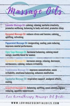 Massage Business, Essential Oils For Massage, Best Essential Oils, Massage Lotion, Massage Oil, Love Massage, Thai Massage, Aromatherapy Recipes, Aromatherapy Oils