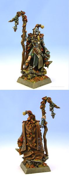 Wood Elf Spellsinger.  My husbands Games Workshop store is having Kris Kringle this year, I hope if I hint enough some-one will get me this!