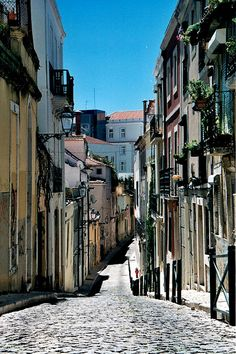 Lisbon city views Charming narrow streets calling to explore this romantic city   #Lisbon #Lisboa #Portugal #holidays #travel #best #destination