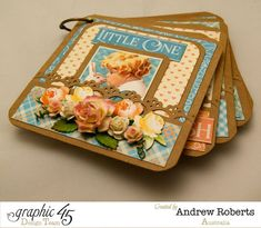 Come see all the pages of this fantastic Precious Memories mini album by Andrew #graphic45