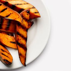 Grilled Sweet Potato Fries Recipe - Health Mobile