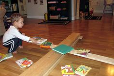 Peaceful Parenting: Homemade Levers: Science Play