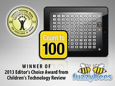 2013 Editor's Choice Award from Children's Technology Review http://childrenstech.com/blog/archives/10994.   http://fuzzybees.com