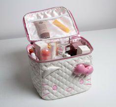 Hello Kitty Portable Stereo Cosmetic Bag - Hello Kitty Stores