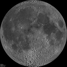 24,000 x 24,000 px image of the moon - mosaic from Lunar Reconnaissance Orbiter's Wide-Angle Camera