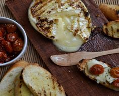 grilled brie, prob the best idea ever created.