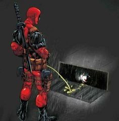 Deadpool going to warch IT - Fuck you, Pennywise. Deadpool Funny, Marvel Funny, Marvel Memes, Deadpool Superhero, Deadpool Stuff, Deadpool Art, Deadpool Wallpaper, Marvel Wallpaper, Hd Wallpaper