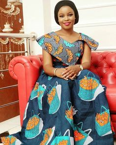 Checkout These Trendsetting & Excitingly Glamorous Ankara Styles - Wedding Digest Naija