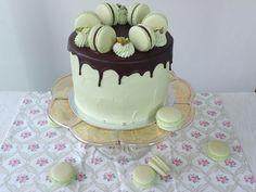 VÍKENDOVÉ PEČENÍ: Pistáciový dort