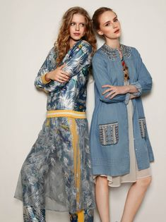 Wear the Lacie Blue Lace dress over patterned pants to create soft seduction. Patterned Pants, Pants Pattern, Summer Of Love, Dusty Blue, Blue Lace, Dress Making, Dress To Impress, Layering, Boho Fashion