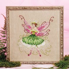 Queen Anne's Lace free from Just Cross Stitch magazine.