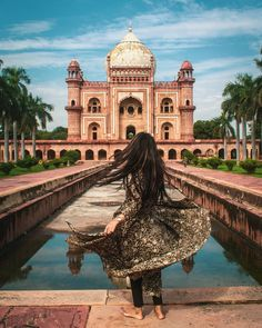 It is a sandstone and marble mausoleum in Delhi, India. Travel Pose, Travel Photos, Places To Travel, Places To Visit, Couple Travel, Amazing India, India Culture, Nepal, Indian Architecture