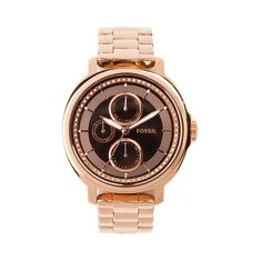 Womens Fossil Chelsey Watch (Rose Gold)