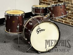 Memphis Drum Shop is the world's premier retail provider of drum sets, snare drums, cymbals, and gongs. Vintage Drums, Vintage Guitars, Drum Shop, Gretsch Drums, How To Play Drums, Snare Drum, Drum Kits, Drummers, Music Music