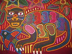 Rita Smith Cuna Molas Handmade Textiles Molitas Mola Art Of The Kuna Indians of San Blas Panama
