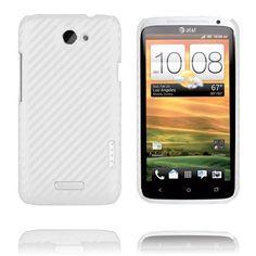 Carbonite (Vit) HTC One X-Skal