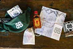 Why limit yourself to a standard welcome bag? If you�re a child of the '80s or early '90s, let nostalgia lead with a fanny pack gift bag instead. �Our clients added the survival necessities: Jerky, brownie crisps, a trail map-inspired welcome booklet, an emergency kit and, of course, Fireball!� says Virginia Edelson, founder of Bluebird Productions.Related: Awesome Wedding Ideas Inspired by the '80s and '90s