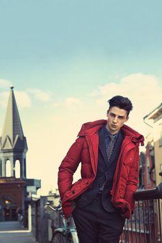 Ash Stymest | T.I For Men Fall/Winter 2013 Campaign [ male models | 1000+ notes | facebook | twitter | google+ | instagram ]
