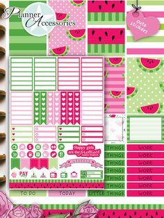 Sticker - 88 Stickers - Happy Planner Wochen Kit  Set03 - ein Designerstück von PlannerAccessories bei DaWanda