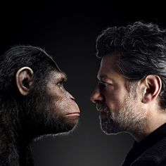 Andy Serkis is changing the face of film-making (Wired UK) actor faces director - the ultimate in environmental portraits