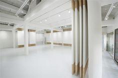 Folding Screen, Rongbaozhai Western Art Gallery / ARCHSTUDIO © Wang Ning