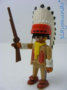 PLAYMOBIL 3395 JEFE INDIO OESTE WESTERN (AÑO 1991 - 1995) http://www.playmundo.es/playmobil-3395-jefe-indio-oeste-western-ano-1991---1995-5988-p.asp